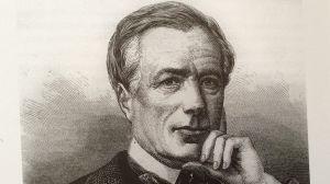 Kirjailija ja kronikoitsija Xavier Marmier (Etienne-Gabriel Bocourt'in piirros)