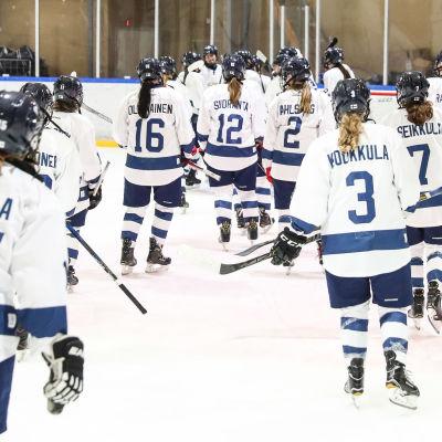 Finlands U18-landslag spelar VM i Japan.