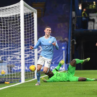 Manchester City maali