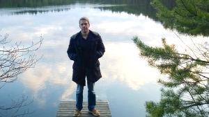 Kirjallisuuden tutkija, kriitikko Fredrik Hertzberg