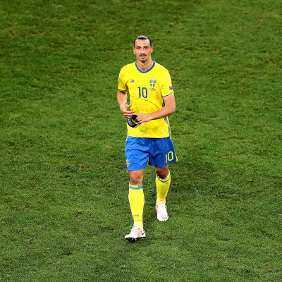 Efter EM-gruppspelsmatchen mot Belgien den 22 juni 2016 tackade Zlatan Ibrahimovic för sig.
