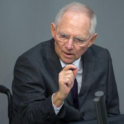 Schäuble lähikuvassa