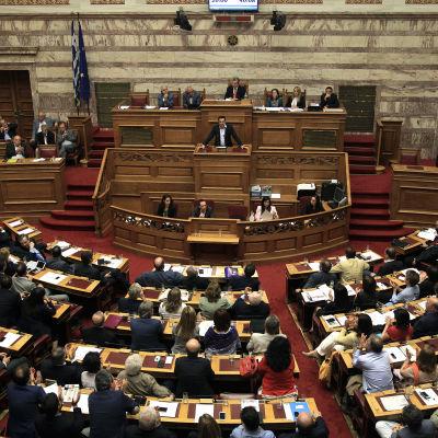 Greklands parlament i Aten.