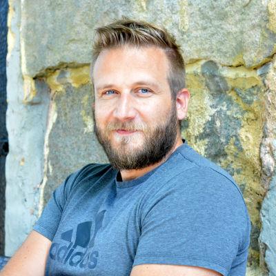 Personporträtt på Conny Karlsson.