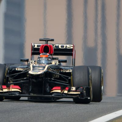 Kimi Räikkönen, april 2013