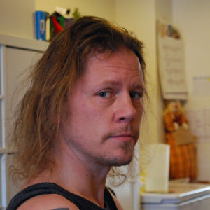Porträtt på eftisledaren Eric Jacobsen