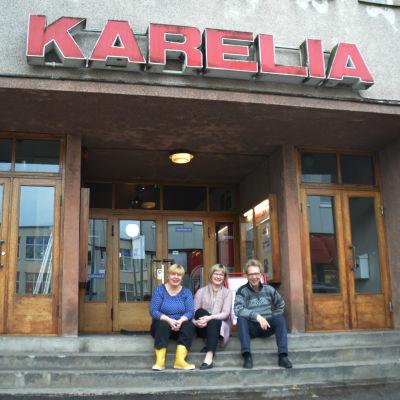 Kulturhuset Karelia i Ekenäs.