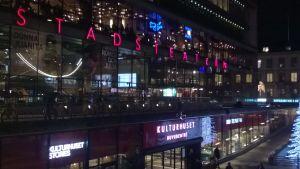 Teaterns fasad.