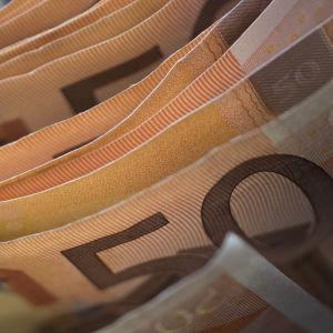 Viidenkymmenen euron seteleitä