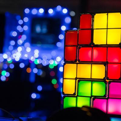 Tetrisblock på Assembly