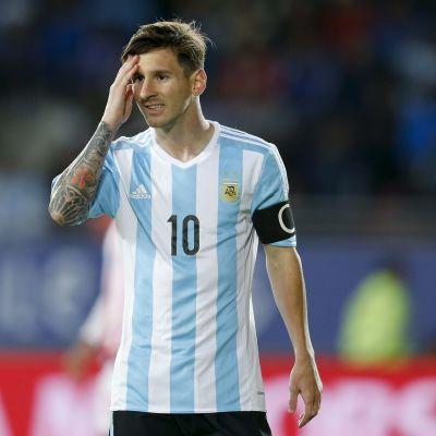 Messi Argenttiinan paidassa Copa Americassa