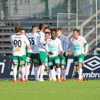 IFK Mariehamn firar fullträff.