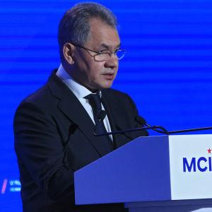 Rysslands försvarsminister Sergei Shoigu.