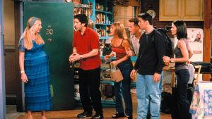 Bild från tv-serien Vänner.