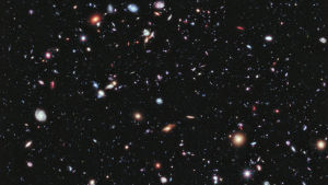 Hubble Extreme Deep Field.