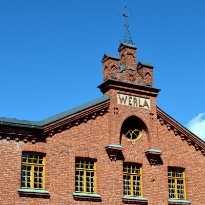 Verlan puuhiomo ja paperitehdas.