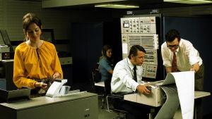IBM 360 -tietokone toimistossa.