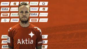 Mika Väyrynen i HIFK:s tröja.