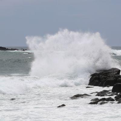 Taifuuni lähestyy Japania 5.9.2020