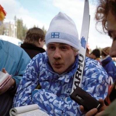 Jari Laukkanen Calgary 1988