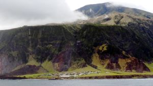 Edingburgh of the Seven Seas på Tristan da Cunha.