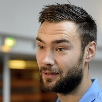 Tim Sparv, dansk mästare 2014-2015.