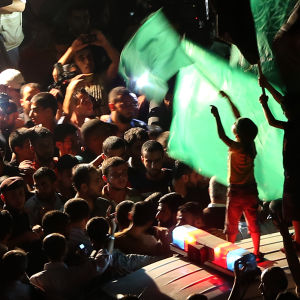 Gazabor firar eldupphöret.