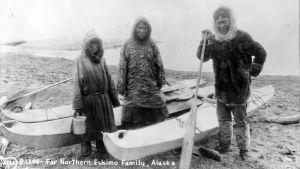 Inuitien elinkeino kalastus oli troolareiden ja valaanpyyntialusten takia uhattuna 1800-luvun lopulla