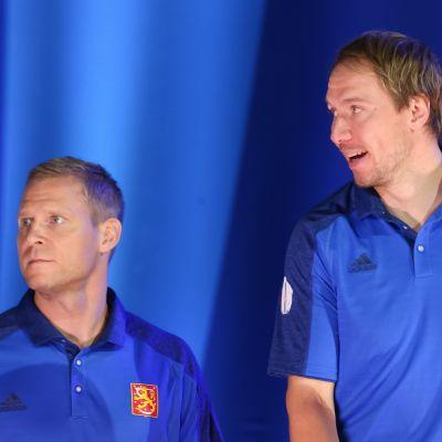 Mikko Koivu ja Jussi Jokinen
