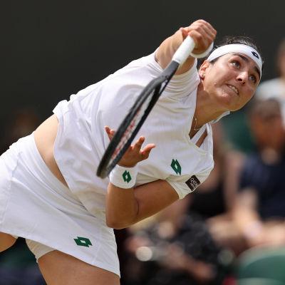 Ons Jabeur on ensimmäinen arabinainen, joka on edennyt Wimbledonin tennisturnauksen puolivälierävaiheeseen
