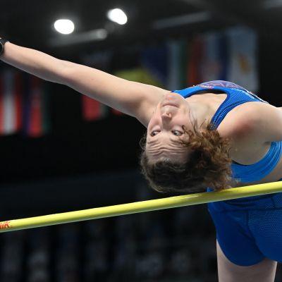 Ella Junnila teki uuden Suomen ennätyksen ja Tokion olympiarajan – tämä ylitys toi EM-pronssia
