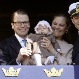 Prinsessan Estelles första framträdande.