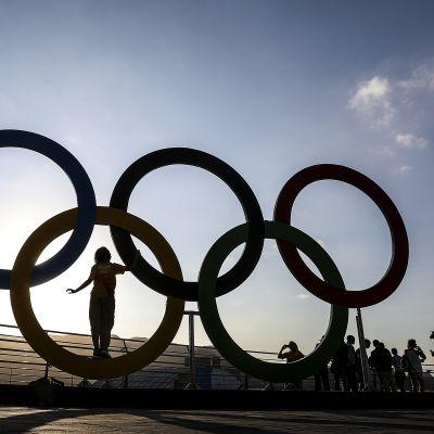 Rion olympiapuisto Barra olympiarenkaat