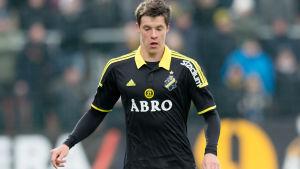 Sauli Väisänen spelade 90 minuter i AIK:s premiär.