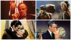 Käsiteltäviä elokuvia Peter von Baghin radiosarjassa Elämää suuremmat elokuvat.