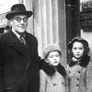 Abraham Stiller, flyktingarnas vän i Helsingfors.