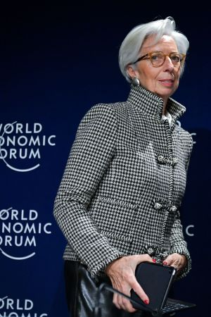 Christine Lagarde på WEF