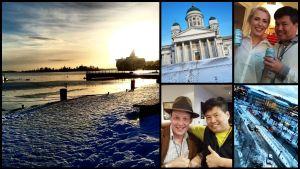 Bloggaren Daniel Chow förevigade Helsingfors på Instagram i januari 2015.