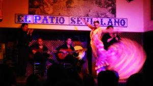 Flamenco esitys Sevillassa