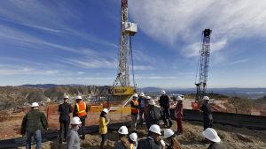 Metanläcka i Kalifornien i december 2015
