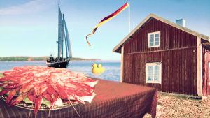 Kräftskivor och skärgård förknippas ofta med finlandssvenskhet.