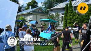 kommentar av Silja Sahlgren-Fodstad