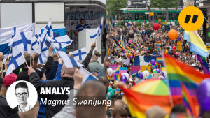 Demonstrationer mot invandring och prideparader, två motpoler?
