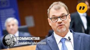 Kommentar av Freddi Wahlström.