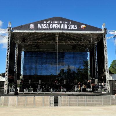 Scenen för Wasa Open Air