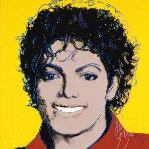 Andy Warhols verk Michael Jackson från år 1984.