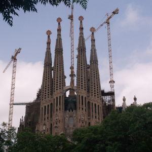 Antonio Gaudin Sagrada Familia katederaali 2010