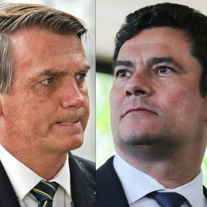 Bolsonaro och Moro.