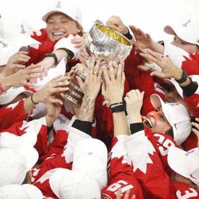 Kanada vann ishockey-VM för damer.