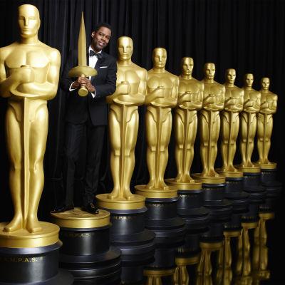 Oscar-gaalan 2016 juontaja Chris Rock